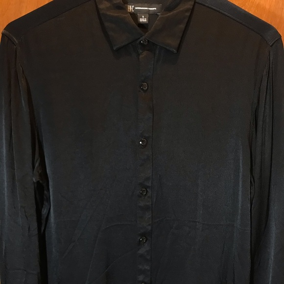INC International Concepts Other - INC Silky Black Button Down